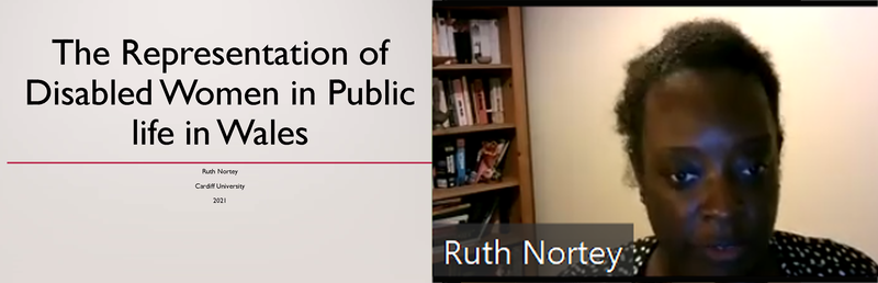 Ruth Nortey-The Representation of Disabled Women in Public Life in Wales